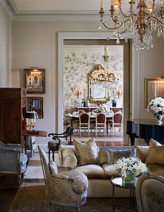 Create your own dramatic space with antique furniture
