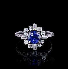 595b4c24606d8 612 Best Jewels images in 2019 | Black sapphire, All that glitters ...