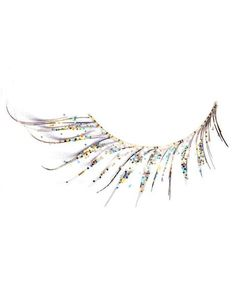 Glitter Feathered Lashes