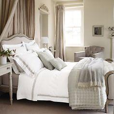 a massive bed