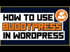How To Use BuddyPress In WordPress -  Installation & Setup Tutorial - https://www.wptutorialcamp.com/how-do-i-use-wordpress/how-to-use-buddypress-in-wordpress-installation-setup-tutorial/  #HowDoIUseWordPress