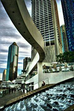 Brisbane CBD Brisbane Cbd, Brisbane Queensland, Queensland Australia, Moving To Australia, Land Of Oz, Holiday Places, Great Barrier Reef, Big Island, Tasmania