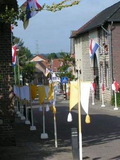Processie Route, Voerendaal, Zuid-Limburg.