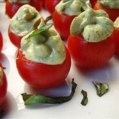 Avocado Pesto-Stuffed Tomatoes on BigOven