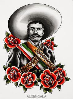 """""""Emiliano Zapata Portrait"""""""