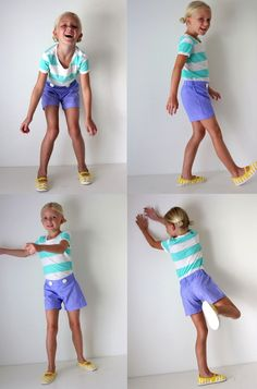 sewing KID Shorts: the Flat Front | MADE