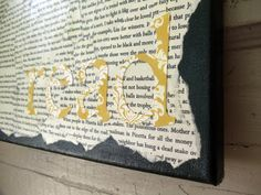 REDUCED8x10 Dark Gray and Yellow READ by ModernBungalow on Etsy