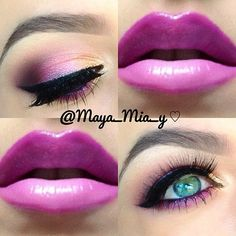 .@maya_mia_y | A look I did a while ago using the Coastal Scents 252 Ultimate Palette Lashe... | Webstagram - the best Instagram viewer