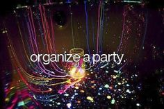 My Bucket List Party Neon Organize Senior Bucket List, High School Bucket List, Summer Bucket Lists, 100 Things To Do, Just Girly Things, Bucket List Tumblr, Life List, Before I Die, Tumblr Photography
