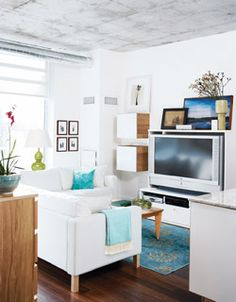 Making the most of a small space c/o Wish magazine #livingroom
