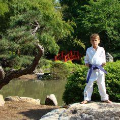 Karate picture taken at Japanese Gardens