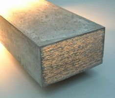 concrete bock prototip translucent concrete material of LiTraCon