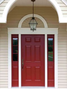 Try a splash of gorgeous color to boost curb appeal and make your front entry more welcoming.