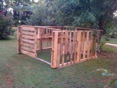 Building a goat barn