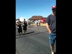 R/C plane crashes real plane