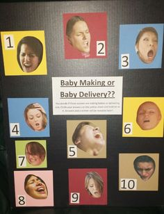 Best baby shower game! Easy to make and a lot of laughs.