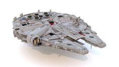 Reverse Engineering the best Lego Millennium Falcon