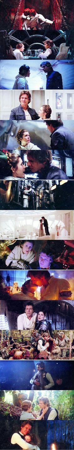Han and Leia ♥♥