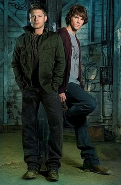 Supernatural. When they were young=( Man I wish they were still like this...