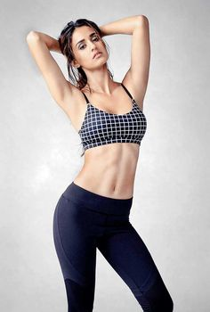 Disha Patani showing her hot and sexy body in fitness wear. #Bollywood #Fashion #Style #Beauty #Hot #Sexy