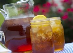 Health Tips & Diet Recipes - Honey-and-Ginger Sweet Iced Tea