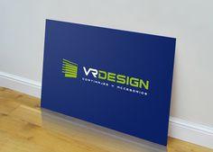 Diseño de logotipo para VR Design - Logoestilo