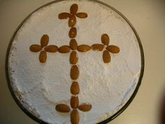 Greek Orthodox religion, koliva is a dish that is heavy with ritual… Orthodox Easter, Greek Orthodox Christmas, Beginning Of Lent, Cypriot Food, Greek Cookies, Greek Easter, Greek Culture, Orthodox Christianity, Greek Recipes