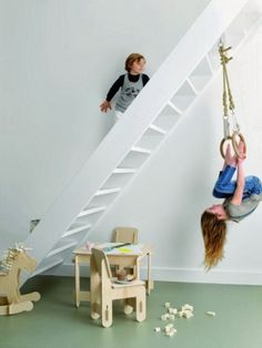 Mommo design: Indoor play areas.