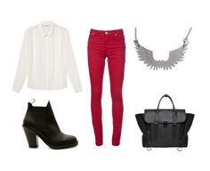 blouse - monki  boots - acne  jeans - acne  necklace - tatty devine from myflashtrash