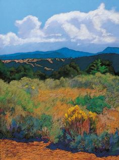 MARY SILVERWOOD  Distant Hills