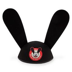 Oswald Ear Hat for Adults | Disney Store Put-up your rabbit ears to get a welcome reception from passers-by while wearing our popular ear hat inspired by Walt Disney's original cartoon star, Oswald the Lucky Rabbit.