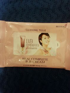 Missha: Real Complete BB Cream Cleansing Tissue