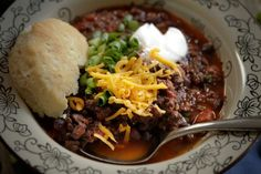 This hearty, flavorful chili is certain to become a gameday favorite.