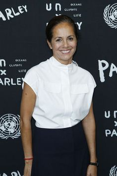 Maria attends the United Nations and Parley for the Oceans Launch event at the United Nations in New York on June 29, 2015.