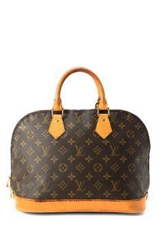 Vintage Louis Vuitton Alma Handbag #bags #fashion