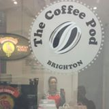 The Coffee Pod 1a North Road Brighton  Delicious Coffee & Cake  to go at very reasonable prices  Open 7am - 2pm Monday - Friday