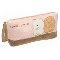 By San-X from Japan Sumikko Gurashi Stationery - Sumikko Gurashi Fluffy Plush Pen Pouch PY36901 Authentic Product from San-X Size: 9 x 19 x 5 cm
