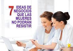 ideas de negocios para mujeres  http://www.1000ideasdenegocios.com/2014/08/ideas-de-negocio-para-mujeres.html