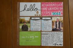 Project Life 2014: The plan, goals and cover page