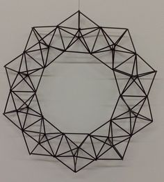 Geometric Lamp, Hanging Gardens, Xmas Tree, Diy Crafts, Decoration, Wedding, Xmas, Sacred Geometry, Wood