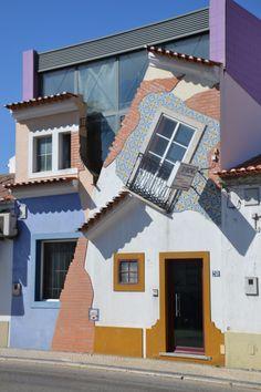 Casa original na Chamusca, Santarém, Ribatejo.