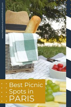 A Parisian picnic is the absolute best way to feel like a local. Here are 9 ideal picnic places in Paris for the perfect Parisian picnic! A guide to the best picnic spots in Paris, Frace! Paris Travel Guide, Picnic Spot, Like A Local, Parisian, France, Places, Lugares, Parisians