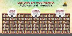 """Jornalista Denise Machado: Center Shopping Rio promove """"Leitura em Movimento""""..."""