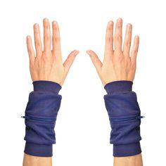 Wrist Zips   Wrist Wallets   Navy