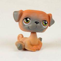 RARE Littlest Pet Shop Puppy Pets Dog Child Girl Loose Figure Toy LPS 011 | eBay
