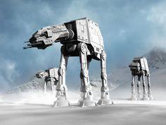 imperial walker star wars | 1024 × 768 AT-AT Imperial Walker Wallpaper