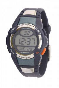Sportief en stoer! Digitaal jongenshorloge van Cool Watch met displayverlichting en stopwatch functie. Het bandje is van zwart kunststof en ...