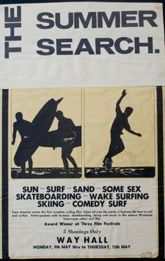 The Summer Search (1966) | Surf Classics  | @SingleFin_