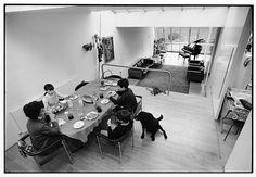 Jaffe House (Skybreak House) y La Naranja Mecánica de Stanley Kubrick (1965-1966)  Norman Foster y Wendy Foster con Richard Rogers (Team 4)1