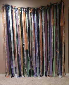 Halloween party photo backdrop, or use it in front of a doorway